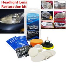 Professional Car Headlight Taillights Fog Directional Light Lens Restoration Kit