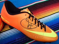 ✺Signed✺ WILLIAM GALLAS Boot PROOF COA Perth Glory Arsenal Chelsea 2018 Jersey
