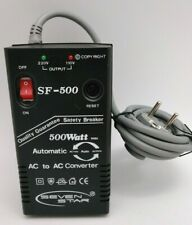 Seven Star Foreign Electricity Automatic Ac Power Converter Sf500 5amp 2Rd Pin