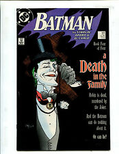 BATMAN #429 A DEATH IN THE FAMILY pt 4 (9.2) 1988