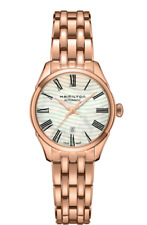 New Hamilton Jazmaster Lady Auto Mother of Pearl Dial Women's Watch H42245191