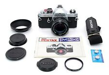 PENTAX MX w/50mm f1.4 LENS! CLA'd w/NEW SEALS! EXCELLENT PLUS! 90-DAY WARRANTY!