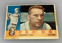 1960 Topps # 372 Frank House Cincinnati Reds Baseball Card