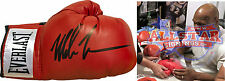 IRON MIKE TYSON SIGNED EVERLAST BOXING GLOVE SEE VIDEO PROOF WORLD CHAMPION