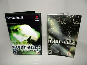 Silent Hill 2 Playstation 2  - Replacement manual, case and case insert