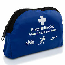 Erste Hilfe Set für unterwegs: Reise, Sport, Fahrrad, kleine Tasche - 15x10x5cm