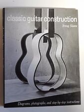 """Classic Guitar Construction"" Irving Sloane Hardcover"