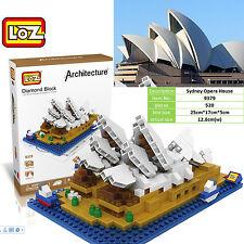 Architecture Sydney Opera House gift fun toy souvenir LOZ iBLOCK  Nano xmas