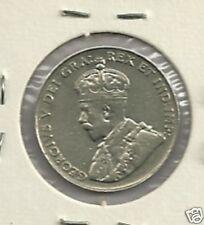 1924  Canada 5 cent  Better Grade VF
