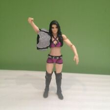 WWE WWF PAIGE ELITE  WRESTLING ACTION FIGURE WITH  BELT DIVA FREE SHIPPING