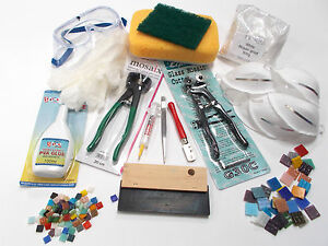 Professional Mosaic Tool Kit +  Free practice tiles and 10% Discount Code !