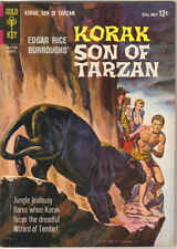 Korak Son of Tarzan Comic Book #4 Gold Key Comics 1964 FINE