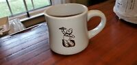 Rare Vtg Dunkin Donuts Coffee Tea Mug Cup Ceramic Dunkie Kitchen Breakfast Food