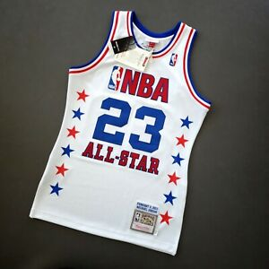 100% Authentic Michael Jordan Mitchell Ness 03 All Star Jersey Size 36 S Mens