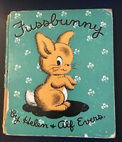Fussbunny Helen and Alf Evers 1944 Vintage Hardcover Good Condition