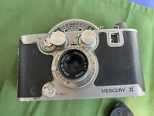 Mecury ll Cx 35mm Camera with Universal Tricor Lens Vintage
