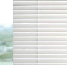 Project Source 1-in White Vinyl Light Filtering Mini Blinds 23� x 64� New White