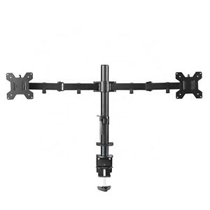 piXL Dual Monitor Stand  Double Arm Desk Mount for up to 27 Inch NEW