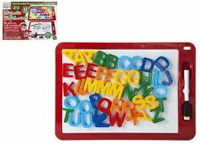 Naughty Elves Christmas Elf Accessory Magnetic Whiteboard with 48 Letters & Pen