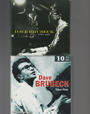 DAVE BRUBECK - TAKE FIVE / TIME WAS - CD BOX SET LOT OF 2 - 14 CDS TOTAL VG+