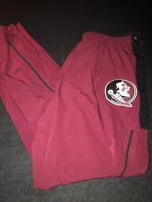 Nike Florida State Seminoles Tear Away Athletic Snap Pants Size XL New FSU Noles