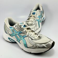 sports shoes 88607 b27d4 ASICS Gel Impression 3 Running Shoe Womens Size 8.5M White Lace-Up Sneaker  T0J7N