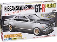 Fujimi 1/24 Nissan Skyline 2000 GT-R (Kpgc10) Full-Works Version Model Kit