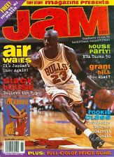 1996 Jam Magazine w/ Poster: Michael Jordan - Chicago Bulls