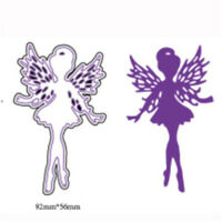 Fairy Design Metal Cutting Dies For DIY Scrapbooking Album Paper Cards I4