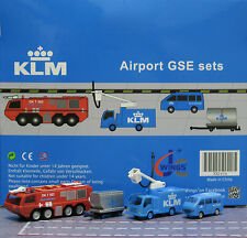 KLM GSE set JC  1:200 Airport Scenic Series Ground Services Equipment    XX2026