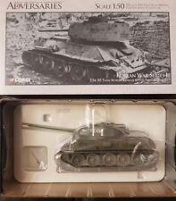 Corgi Adversaries T34/85 Tank-North Korean 109th Tank Regiment US51601 1:50