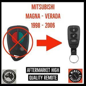 FITS MITSUBISHI MAGNA VERADA REMOTE KEYLESS ENTRY FOB 1998 - 2006