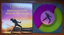"Queen Bohemian rhapsody record store day color vinyl 7""+ free plastic bag"