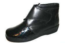 Scarpe da donna neri a strappo tacco medio ( 3,9-7 cm )