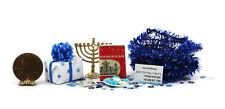 Dollhouse Miniature 1:12 Jewish Chanukah Celebration Set