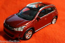 Citroen C4 Aircross - bordeaux rot metallic - Norev 1:64 (3in / 7cm) - NEU