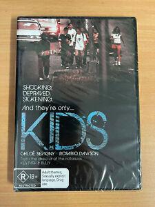 KIDS Chloe Sevigny Rosario Dawson DVD R18+ Region 4 BRAND NEW oz LARRY CLARK