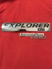 2006 2007 2008 2009 2010 FORD EXPLORER XLT ADVANCE TRAC RCS REAR EMBLEMS (405)