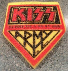 KISS Army Sponge 1979 Dynasty Tour Concert Aucoin Promo Item Original Owner EUC