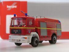 """Herpa MAN M 2000 EVO Tanklöschfahrzeug """"Feuerwehr Ingolstadt"""" - 093927 - 1:87"""