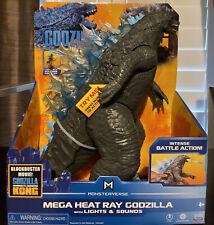 """Godzilla VS Kong 13"""" Mega Heat Ray Godzilla Figure with Lights & Sounds"""