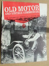 Old Motor & Vintage Commercial. 1964 Aug. Cars in early films, steam traction