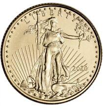 4 X American Eagle 1/10 oz Gold Coins- .Fine Random Date FREE SHIP