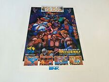 Double Dragon flyer / handbill | SNK NEO GEO AES MVS CD Japan