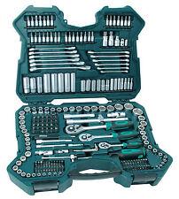MANNESMANN Steckschlüsselsatz 215-teilig Werkzeugkoffer Schlüsselsatz Werkzeug