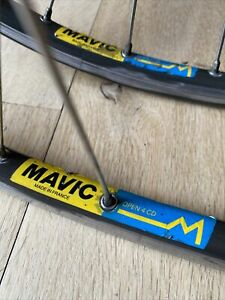 700c Fixed Wheels Mavic Open 4CD Rims Pista Clincher Maillard Pro 700 Hubs