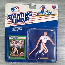 1988 Kenner Starting Lineup Len Dykstra Lenny MLB Baseball Figurine NY Mets