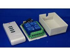 Control Remoto De 4 canales y receptor para cuatro dispositivos de forma inalámbrica por separado