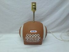 Rare and Hard to Find Working Vintage Little Tikes Football Table Lamp Cute!