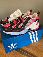 Womens/Girls Adidas Gazelle Trainers Hot Pink/White Size 4.5 BNWT EQT